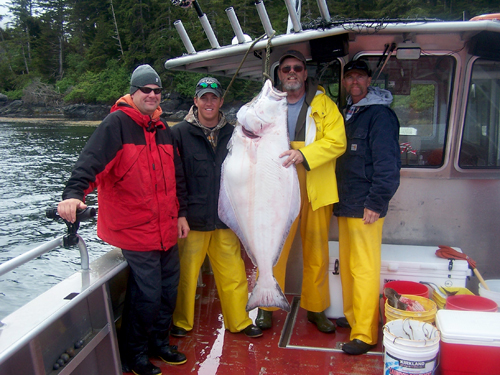 06 06 2009 Another beauty of a halibut