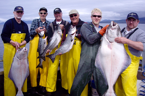 06 14 2009 Just another fabulous day of fishing in Sitka Alaska