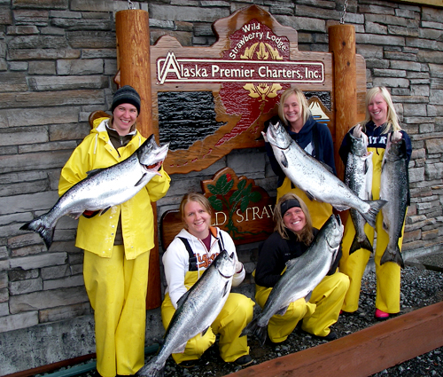 06 18 2009 Blondes have more fun catching King Salmon