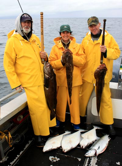 09 09 2009 Slot cod Lingcod in the slot limit of over 30 in
