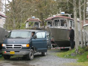 Getting the boats out of winter storage