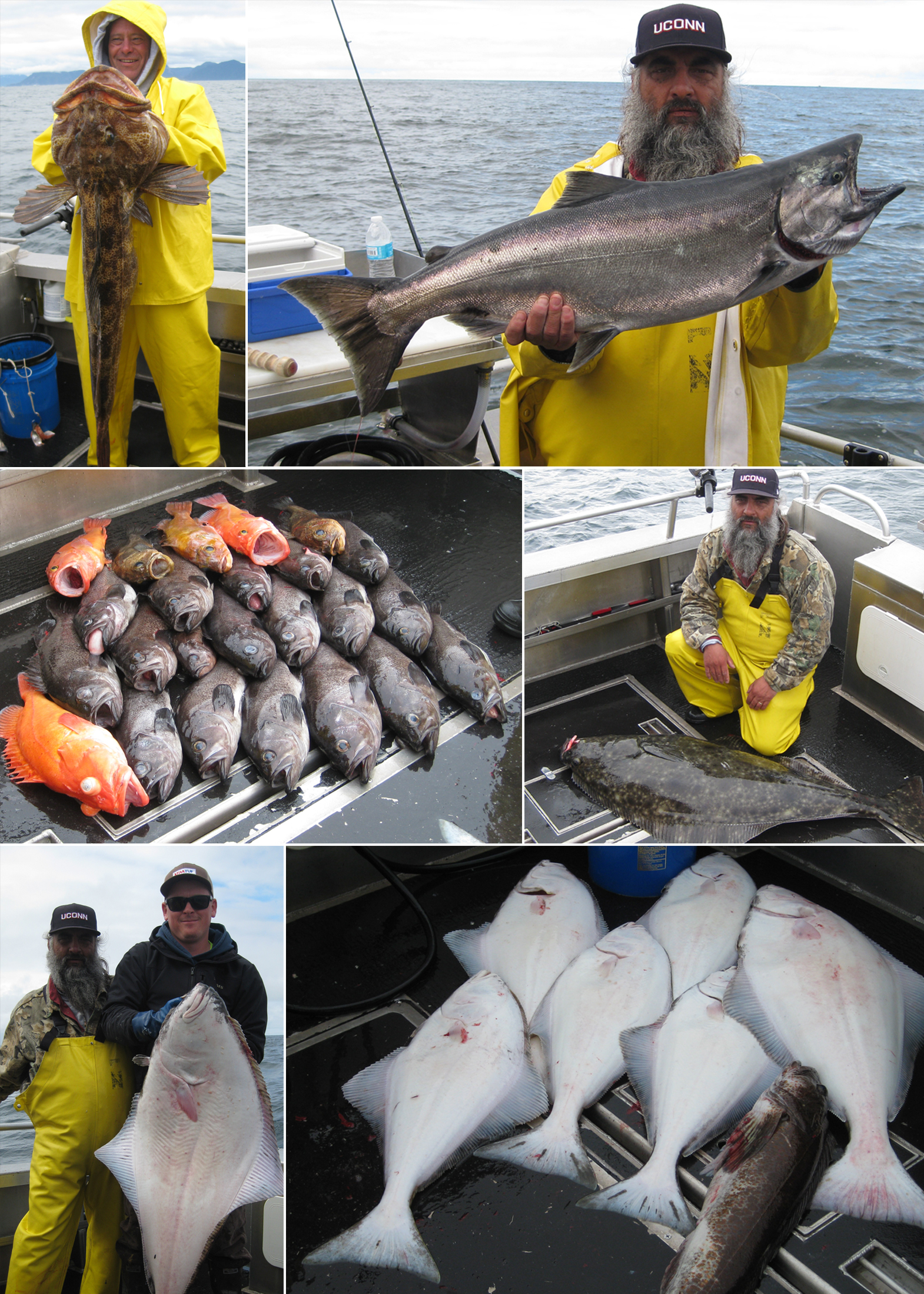 Nice examples of what Sitka, Alaska has to offer!