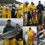 05-21-2017 Rough weather produces a 34 lb. ivory King Salmon!