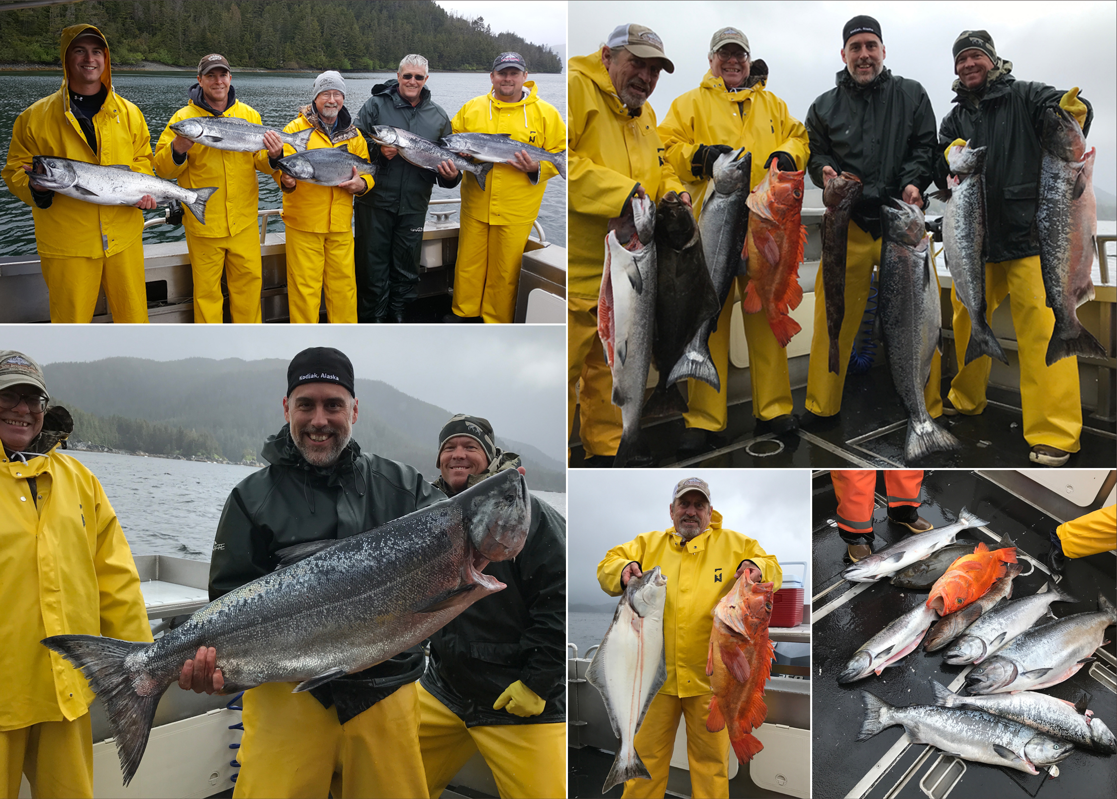 05 21 2017 rough weather produces a 34 lb ivory king for Sitka alaska fishing lodges
