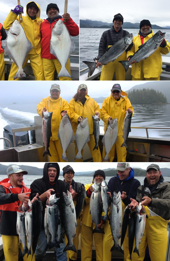 Our captains are finding the fish on a rough day!