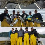 07-18-2017 A great salmon day and a 72 in. releaser halibut!