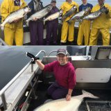 07-19-2017 The Matthews party rocked the day with a 65 in. releaser halibut!