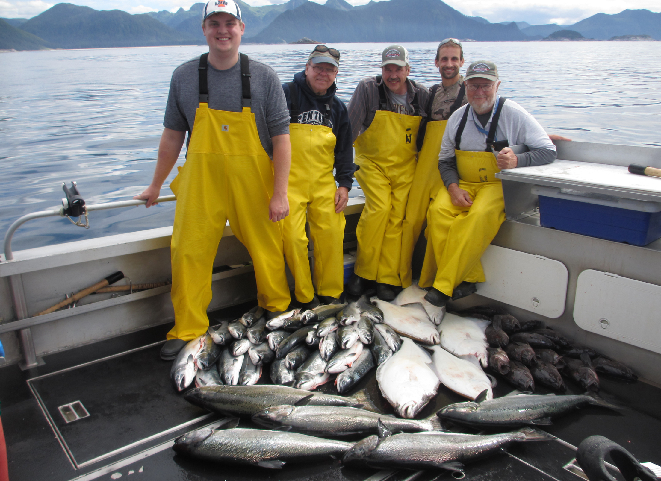 08 02 2017 so many fish no time for pictures sitka alaska for Sitka alaska fishing lodges
