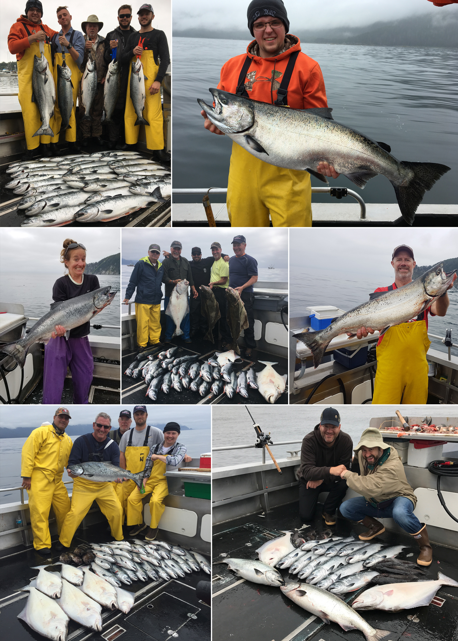 08 06 2017 successful first day for all groups sitka for Sitka alaska fishing lodges