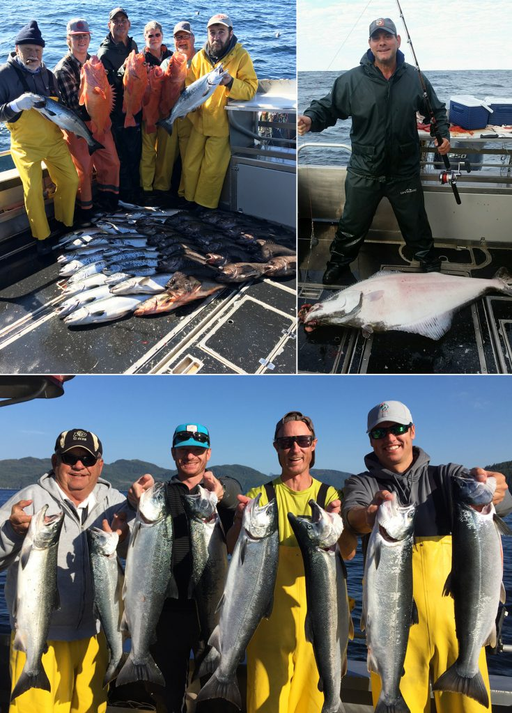 Large silvers, releaser halibut, and some variety!