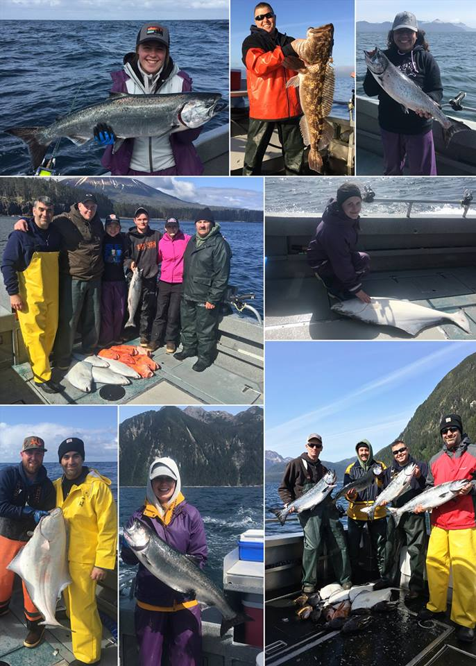 5-17-2018 Great Start To The Season With Limits Of King Salmon and Releaser Lings in Sitka, Alaska!