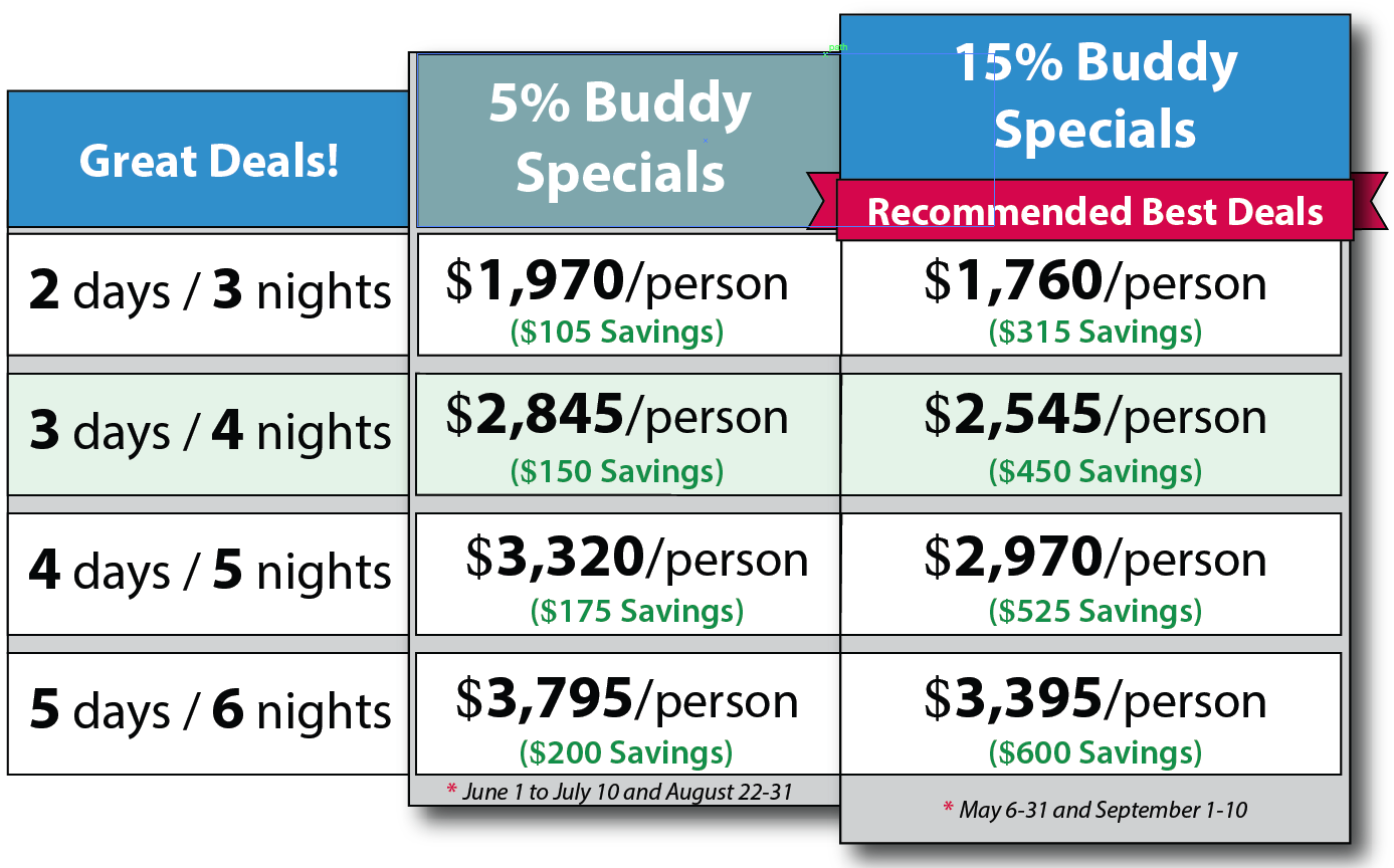 2018 Buddy Special Rates.fw