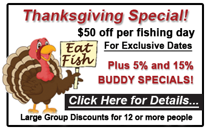 thanksgiving special, alaska premier charters, wild strawberry lodge, fish sitka