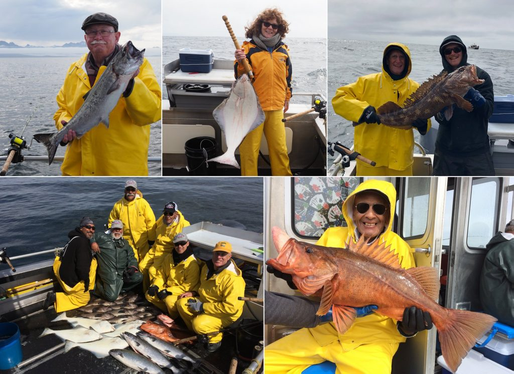 5-20-2019 A super-sized Bocaccio Rockfish tops the day!Sitka Alaska