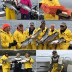 6-9-2019 More Kings and a releaser Halibut!