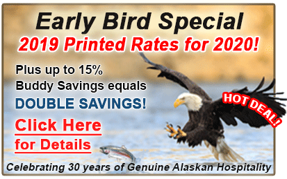 early bird special, special vacation, fishing lodging vacation, sitka alaska, alaska fishing, fishing sitka, wild strawberry lodge